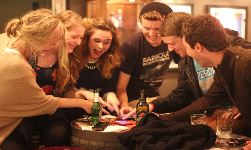smartphone trivia for bars, team building, schools, something new