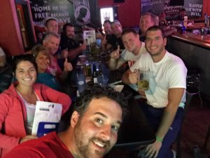 bar trivia crowd